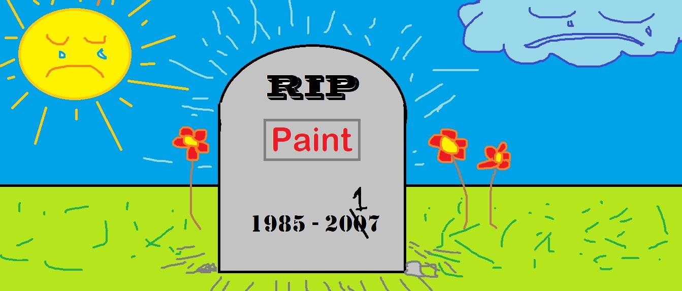 È la fine per Microsoft Paint, un addio che fa male